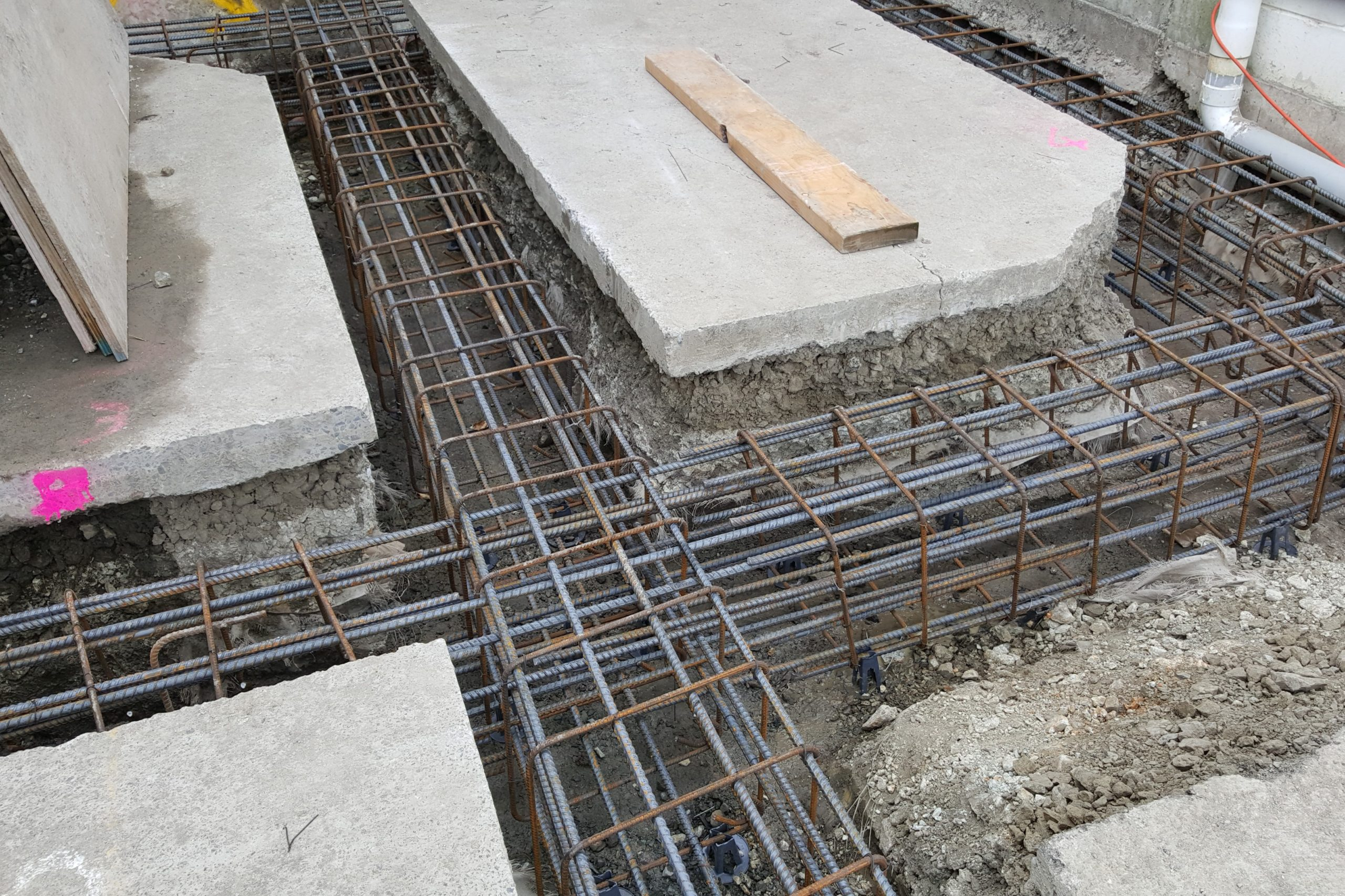 reinforcing reo foundations